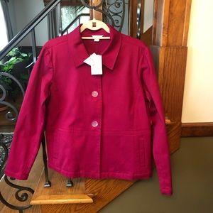 Christopher & Banks NWT Bright Pink Blazer